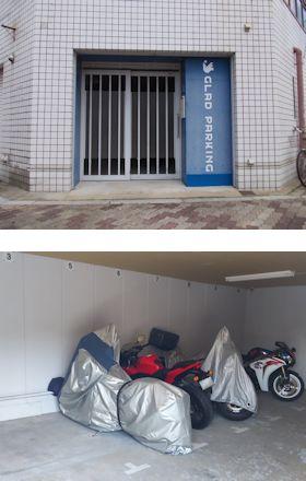 大阪市東淀川区豊新5-5-9 上新庄バイクパーキング -02